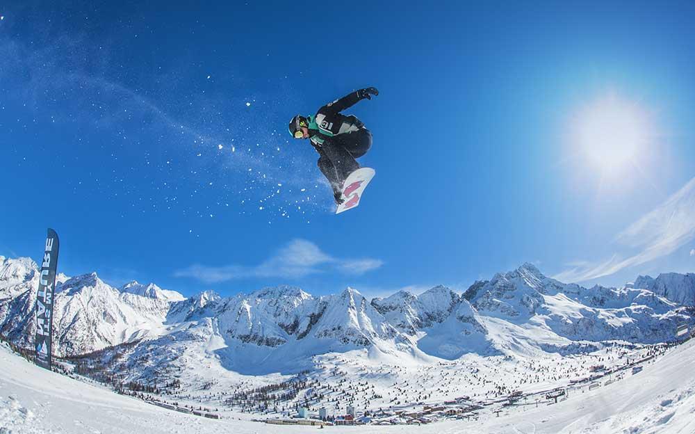 Commezzadura inverno sci alpino